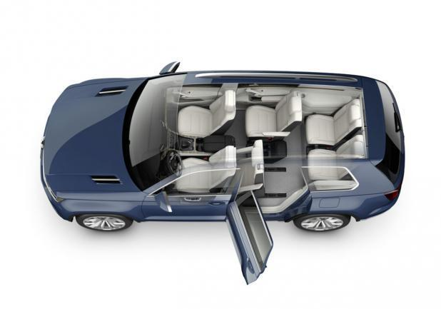 Volkswagen CrossBlue Concept accessibilit�