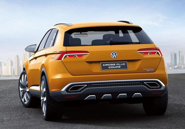 Volkswagen CrossBlue Coupé posteriore