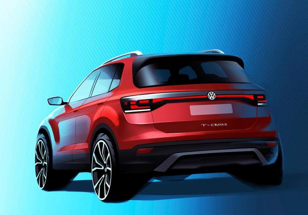 Volkswagen T-Cross, in arrivo l?ultima crossover