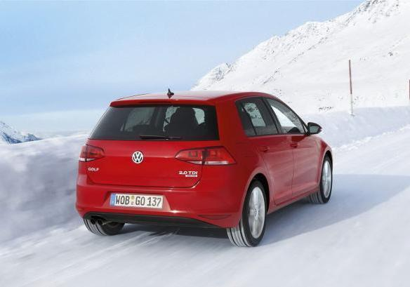 Volswagen Golf 4Motion immagine 2