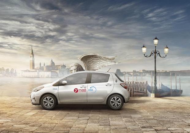 YUKO with Toyota: il primo car sharing a Venezia