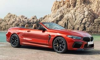 BMW Nuova M8 Cabrio M8 Competition