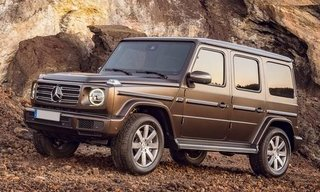 Mercedes-Benz Nuova Classe G G 400 d stronger than time