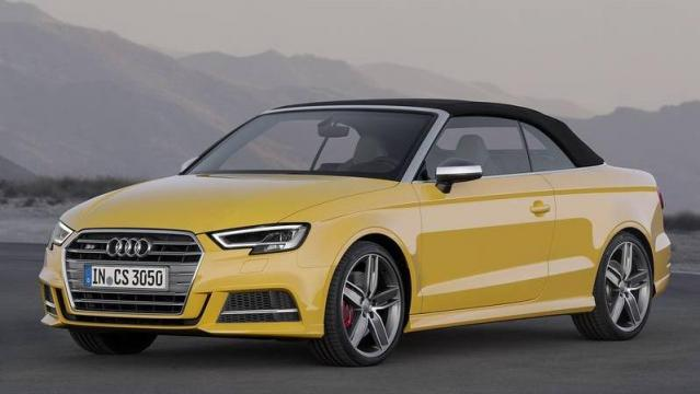 Audi S3 Cabriolet laterale