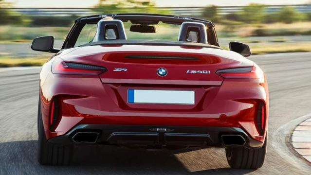 BMW Z4 2019 posteriore