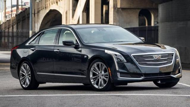 Cadillac CT6 Sedan laterale