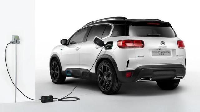 Citroën C5 Aircross Hybrid posteriore