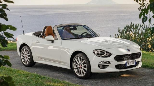 fiat 124 spider listino prezzi 2019 consumi e dimensioni. Black Bedroom Furniture Sets. Home Design Ideas