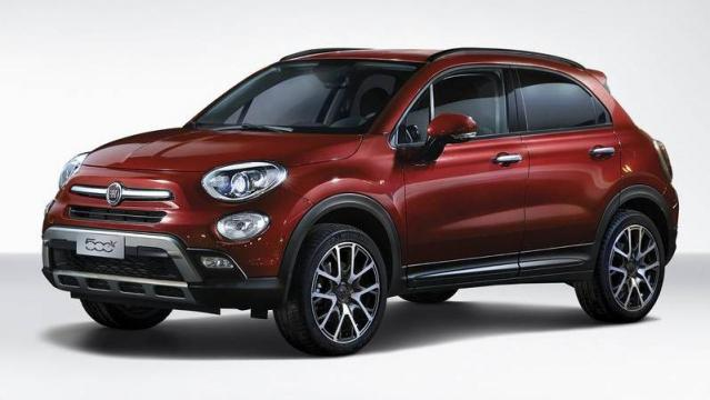 fiat 500x cross look listino prezzi 2018 consumi e dimensioni patentati. Black Bedroom Furniture Sets. Home Design Ideas