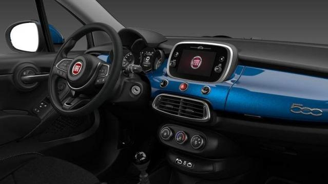 FIAT 500X Urban interni