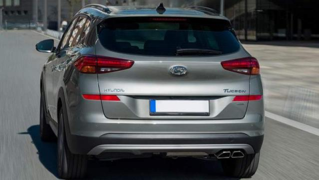 Hyundai Tucson restyling 2019 posteriore