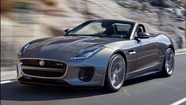 Jaguar F-Type Convertible anteriore