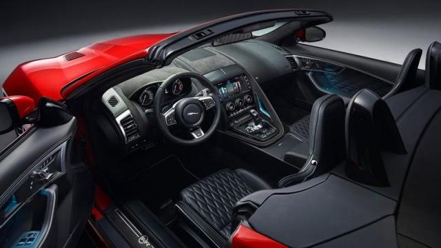 Jaguar F-Type Convertible interni
