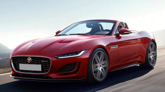 Jaguar Nuova F-TYPE CONVERTIBLE