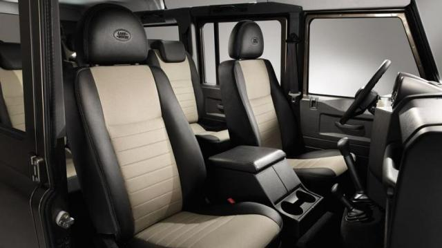 Land Rover Defender interni