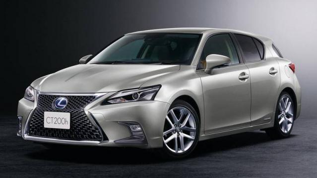 lexus nuova ct hybrid: listino prezzi 2018, consumi e dimensioni