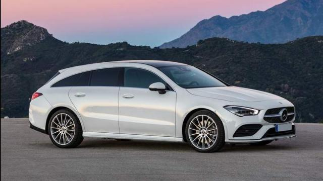 Mercedes-Benz CLA Shooting Brake anteriore
