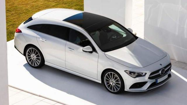 Mercedes-Benz CLA Shooting Brake foto