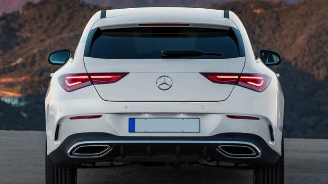 Mercedes-Benz CLA Shooting Brake posteriore