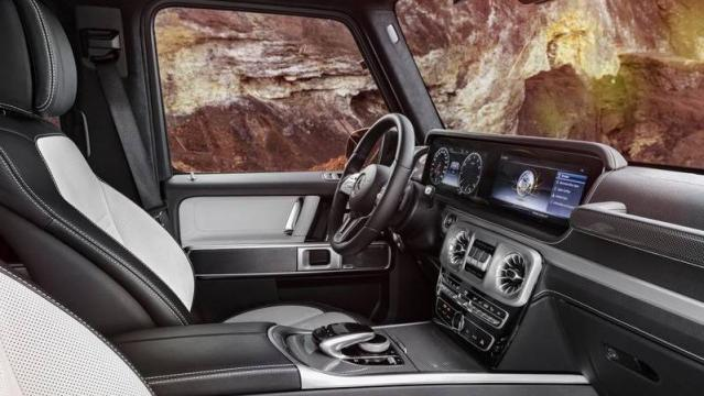 Mercedes-Benz Classe G interni