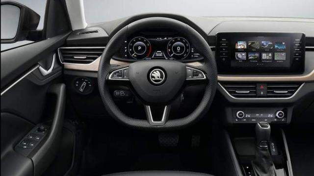 Skoda Scala interni