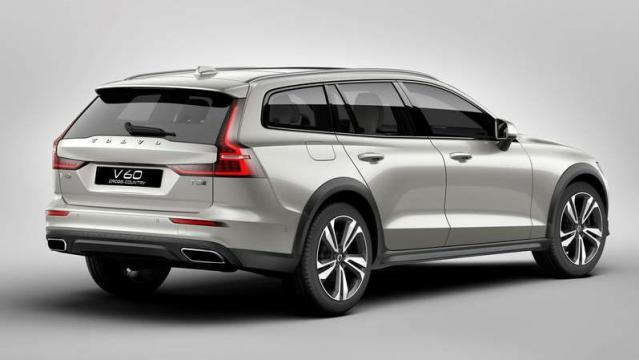 Volvo V60 Cross Country 2018 posteriore