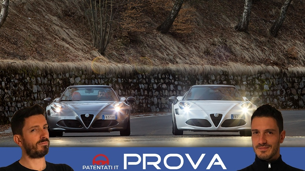 Le supercar Alfa Romeo a confronto: 4C Coupé vs 4C Spider