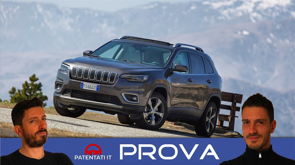 Jeep Cherokee 2.2 Multijet 4WD Limited, il test drive