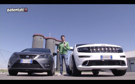 Jeep Grand Cherokee Srt vs Seat Ibiza Cupra