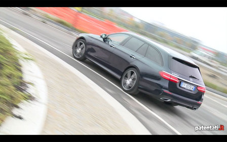 Mercedes Classe E 220D  Station Wagon, il test drive