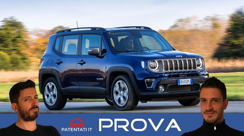 Nuova Jeep Renegade 2019 1.0 T3 120 CV Limited - Test Drive