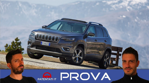 Jeep Cherokee 2.2 Multijet 4WD Limited, test drive in Val Formazza